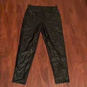 NWOT faux leather leggings